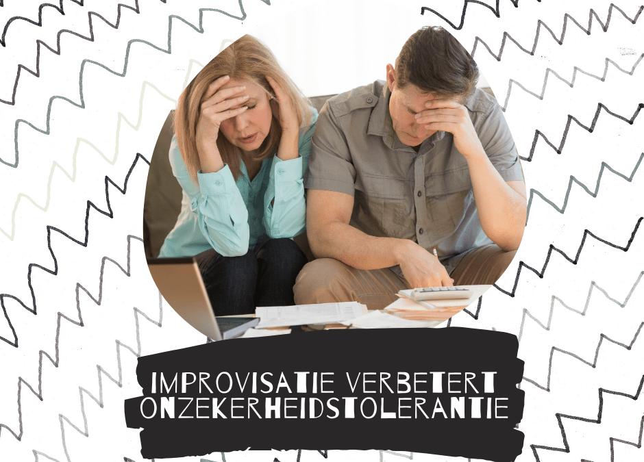Verband tussen improvisatie en onzekerheidstolerantie