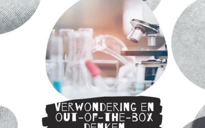 Verwondering en thinking-outside-the-box zijn verbonden