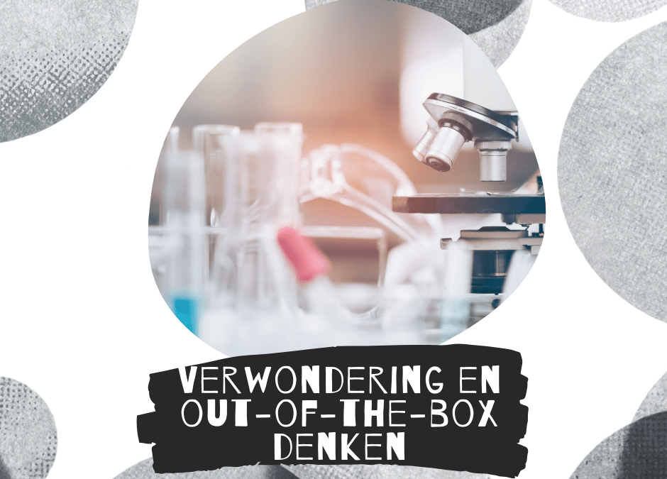 Verwondering en thinking-outside-the-box zijn verbonden