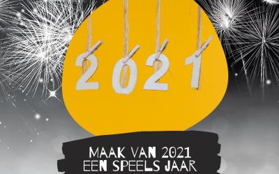 Maak van 2021 een speels jaar!